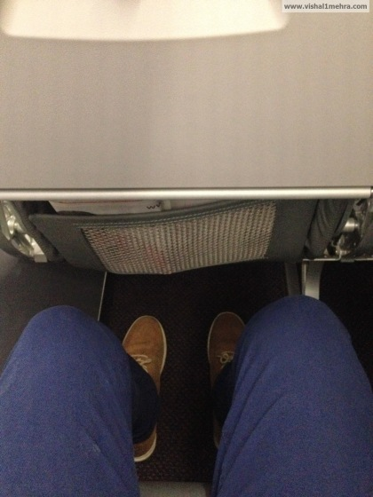 Vistara Economy Legroom