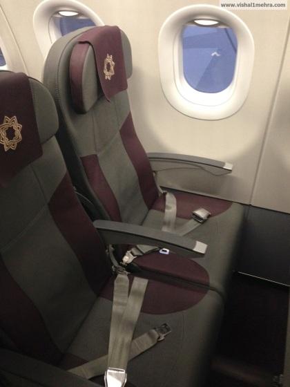 Vistara Economy class seats
