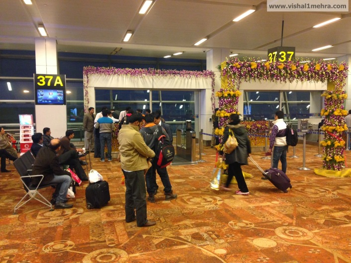 Vistara Gate - Delhi T3