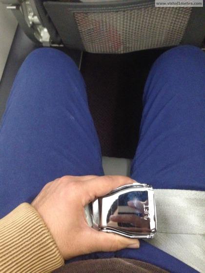 Vistara shiny chrome seat belts